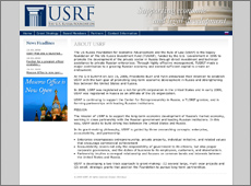 По заказу фонда The US Russia Foundation for Economic Advancement and the Rule of Law, агентство Omnibus разработало дизайн сайта